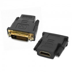 HDMI Female to DVI 24+1 pin...