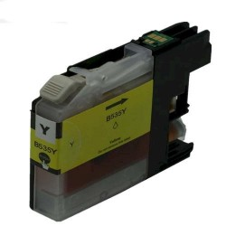 Brother LC535XL-Y Compatible Yellow Ink Cartridge