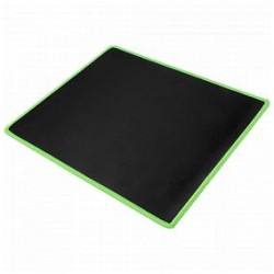 Black and Green Mouse Pad