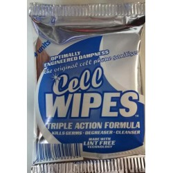 Cell Wipes - Pack of 3