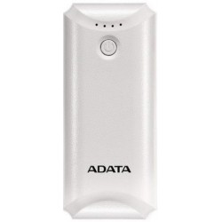Adata P5000 5000mah Power Bank - White