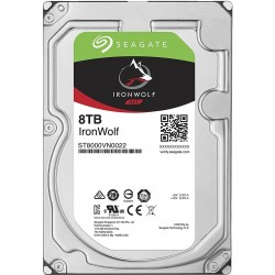"Seagate 8TB Ironwolf 3.5"" NAS Internal Hard Drive"