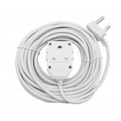 10M 10A Extension Cord with Double Coupler