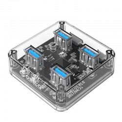 Orico 4 Port USB3.0 Transparent Hub