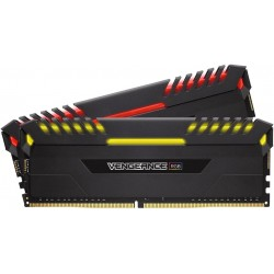 Corsair Vengeance RGB 16GB (2x 8GB) DDR4 3000MHz C15 Desktop...