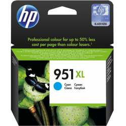 HP 951 XL Cyan OfficeJet Ink Cartridge