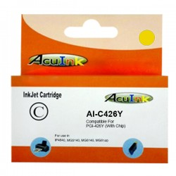 Canon CLI-426Y XL Compatible Yellow Cartridge