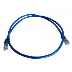 Linkbasic 1 Meter FTP Cat5e Patch Cable Blue