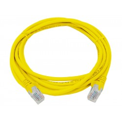 Linkbasic 3 Meter UTP Cat5e Patch Cable Yellow