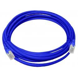 Linkbasic 5 Meter UTP Cat5e Patch Cable Blue