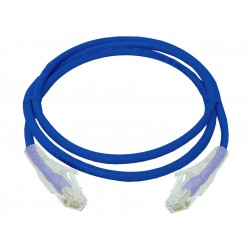 Linkbasic 1 Meter UTP Cat6 Patch Cable Blue