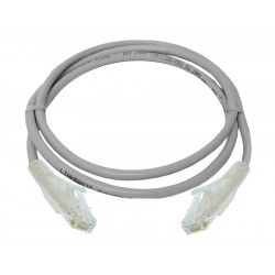 Linkbasic 1 Meter UTP Cat6a Patch Cable Grey