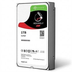 SEAGATE 1TB 3.5 IRONWOLF NAS HDD 64MB CACHE