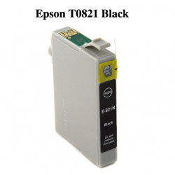 Epson T0821 Compatible Black Cartridge