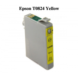 Epson T0824 Compatible Yellow Cartridge