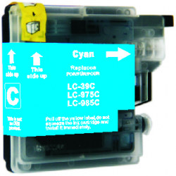 Brother LC39C Compatible Cyan Cartridge