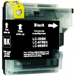 Brother LC39BK Compatible Black Cartridge