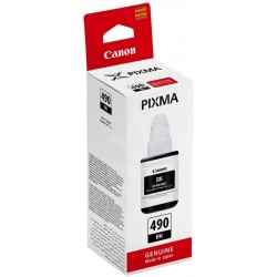 Canon GI-490 Black 135ml Ink Bottle - 6000 Pages