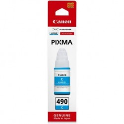 Canon GI-490 Cyan 70ml Ink Bottle - 7000 Pages