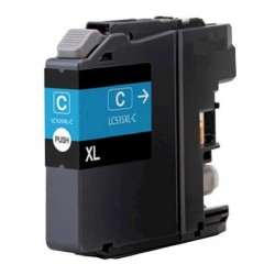 Brother LC535XL-C Compatible Cyan Ink Cartridge