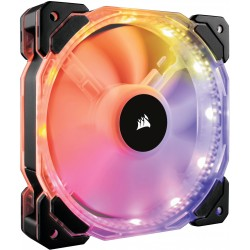 Corsair HD120 RGB LED High Pressure Case Fan with Controller...