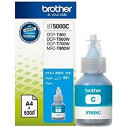 Brother BT5000C Cyan Ink - for DCPT310, DCPT500W, DCPT510W,...