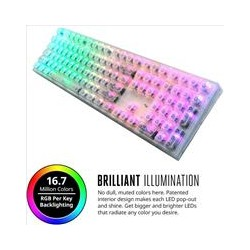 Cooler Master Masterkeys Pro-L Crystal edition - Cherry MX Red