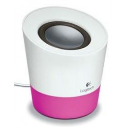 Logitech Z50 Portable Speaker - White and Pink