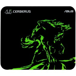 Asus Cerberus mini Gaming mouse pad - black and green