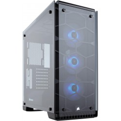 Corsair Crystal 570X RGB Tempered Glass, Premium Black ATX...