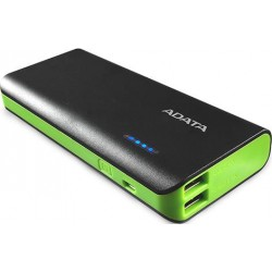 Adata PT100 Black and Green 10000mAh Power Bank