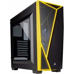 Corsair Carbide Black and Yellow SPEC-04 Windowed Side Panel...