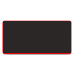 XTRIKE-ME Stealth Extended Black & Red Gaming Mouse Pad