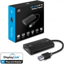 Vantec USB3.0 to DisplayPort 4K display adapter