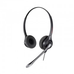 Calltel HW361N Stereo-Ear Broadband Audio Noise-Cancelling...