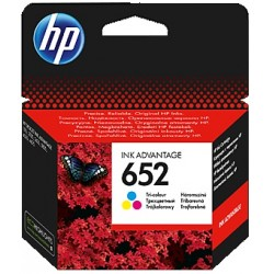 HP 652 Tri-Colour Cartridge