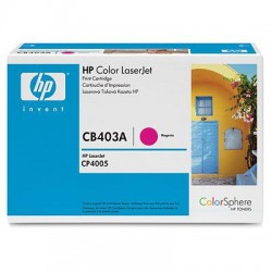 HP  642A COLOR LASERJET CP4005 MAGENTA PRINT CARTRIDGE.