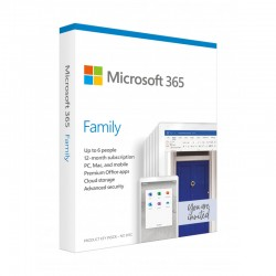 Microsoft 365 Family - 1 Year Subscription (6 People, 5...