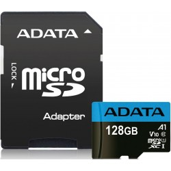 ADATA Premier 128GB MicroSDXC Memory Card with SD adapter