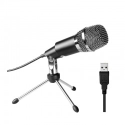 Fifine K668 Uni-Directional USB Condensor Microphone with...