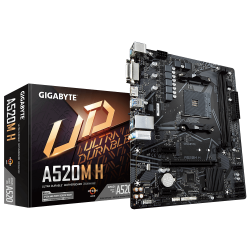 Gigabyte A520M H Socket AM4 Micro-ATX Motherboard