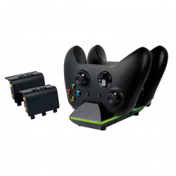 Sparkfox Dual Controller Charging Dock and Battery Pack -...