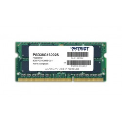 Patriot Signature Line 8GB DDR3 1600MHz SO-DIMM Dual Rank