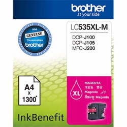 Brother LC535XL-M InkBenefit Magenta Cartridge