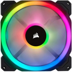 Corsair 140mm Dual Light Loop RGB LED PWM Fan