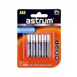 Astrum AAB003 Alkaline AAA LR03 Battery 4PC Pack