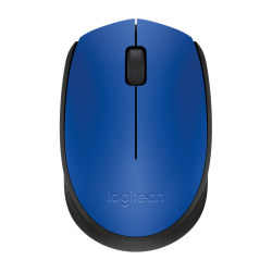 Logitech M171 Black & Blue Wireless Mouse
