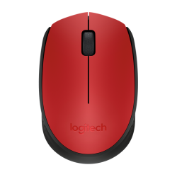 Logitech M171  Black & Red Wireless Mouse