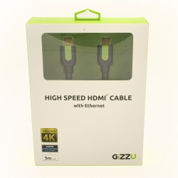 Gizzu High Speed HDMI 5m Cable with Ethernet