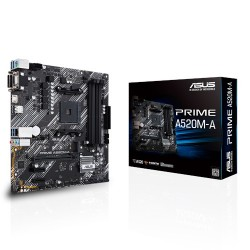 Asus Prime A520M-A Socket AM4 Micro-ATX Motherboard